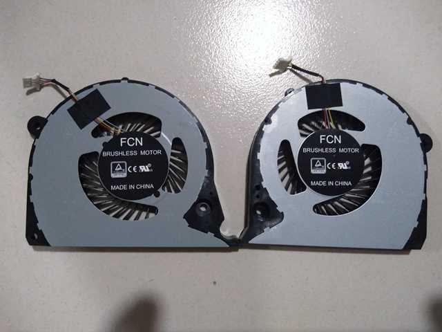 Nouveau CPU GPU Refroidisseur Ventilateur Pour DELL Inspiron 15-7588 15-7577 G7-7588 G7-7577 P72F G7-7590 P82F G5-5587 15 G7 7577 7588 Radiateur