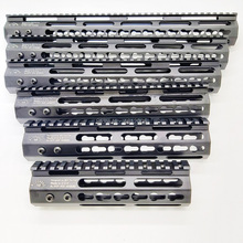 цена на 15 inch keymod handguard Free Float Super Slim ar 15 Handguard Quad Rail W/ Nut for M4 M16
