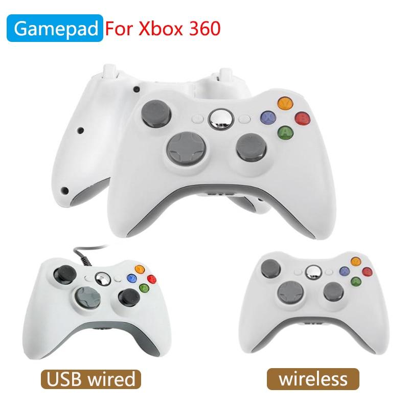 Игровой контроллер для Xbox 360 беспроводной USB проводной геймпад для ПК Windows или Xbox 360 тонкий Bluetooth геймпад для Microsoft Xbox 360 Геймпады      АлиЭкспресс