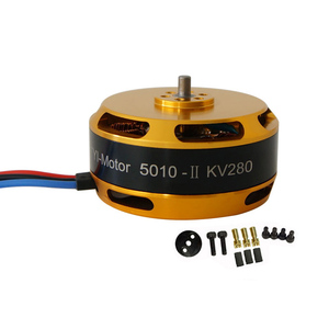 1pcs 5010 340KV Brushless Motor Large Power High-speed Waterproof Engine Controller 12N14P for RC Aircraft Drone Model(China)