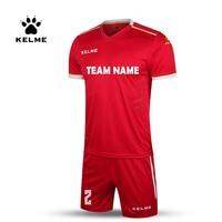 KELME Custom męska koszulka piłkarska stroje piłkarskie kombinezony treningowe oryginalna drużyna piłki nożnej koszulka z krótkim rękawem dres K16Z2004 w Komplety piłkarskie od Sport i rozrywka na