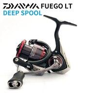 DAIWA FUEGO LT Spinning Fishing Reel 2500D 2500D XH 3000D C 3000D CXH Deep Spool 5.3:1/6.2:1Gear Ratio Spinning Wheel