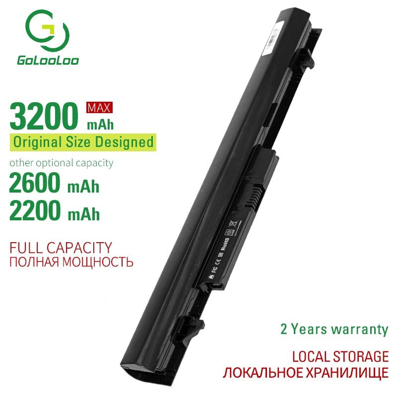 Golooloo 14.8V Laptop Battery For HP 240 G2 OA04 oa03 HSTNN-LB5S 740715-001 TPN-F113 -F115 CQ14 CQ15 For Compaq Presario 15-h000(China)