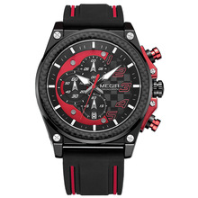 Creative Car watch Chronograph Sport Watch Men Silicone Army Military Wrist Watches Clock Men Top Brand Luxury Relogio Masculino
