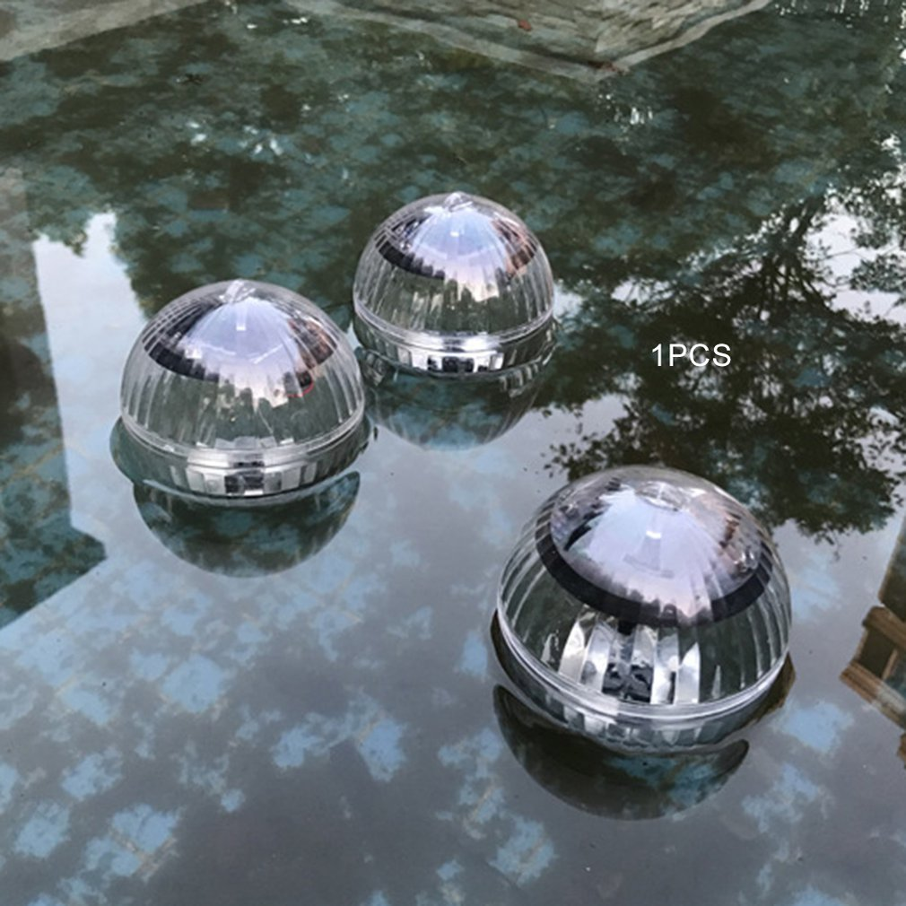 Outdoor Solar Water Drift Lights Colorful Light Warm Yellow Light Pond Floating Lights Ball Lights Pool Lights