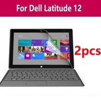 Um conjunto anti-reflexo protetor de tela Polegada película protetora para tablet notebook para dell latitude 12