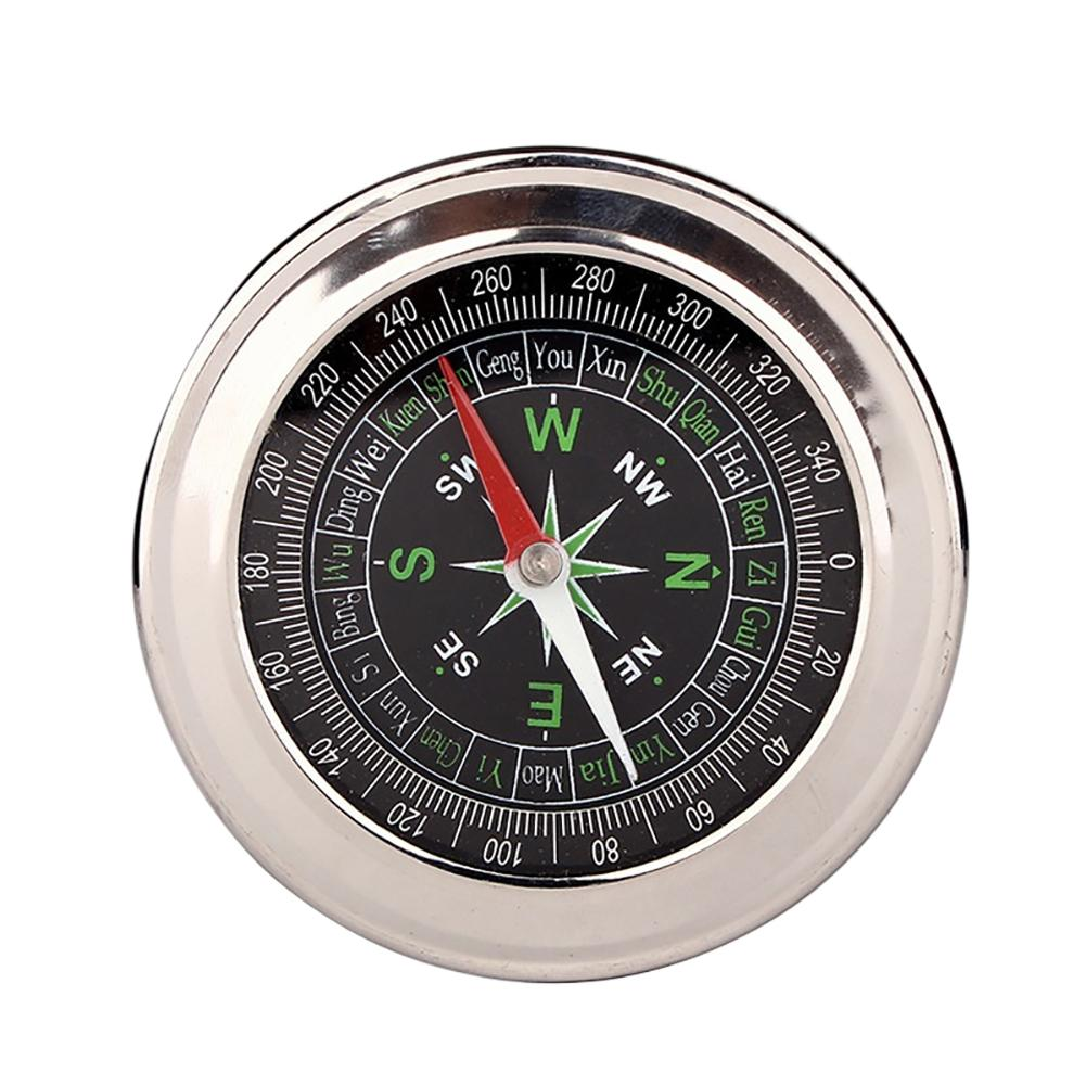 Portable Pocket Watch Style Outdoor Camping Hiking Metal Navigation Compass Outdoor Sports Accessories
