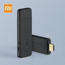 Originele Xiaomi Hdmi Draadloze Mirroring Meerdere Apparaat Met Hetzelfde Scherm Wifi 2.4G + 5G 1080P Hd Een screen Smart Apparaat