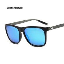 Lunettes de soleil polarisées carrées | Pour hommes, Design à la tendance 2020, lunettes de Protection UVA UVB pour femmes, lunettes polarisées