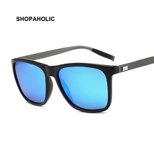 Square Sunglasses Polarized For Men 2020 Trending Design UVA UVB Protection Sun