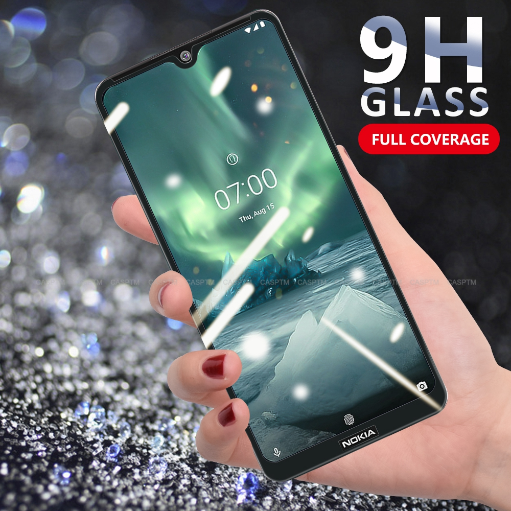 1~2PCS <font><b>Screen</b></font> <font><b>Protector</b></font> For <font><b>Nokia</b></font> <font><b>7.2</b></font> 2.2 4.2 3.2 8 5 3 6 Anti Scratch Tempered Glass For <font><b>Nokia</b></font> 8.1 Plus 7.1Plus 7 9 X5 5.1 Plus image