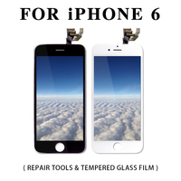 Full Assembly LCD Display for iPhone 5S 6S 6 Plus Touch Screen Digitizer Replacement with Front Camera Complete LCD