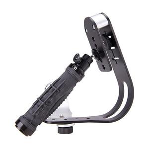 Image 3 - Cầm Tay Tay Cầm Steadycam Stabilizer Ổn Định Camera Với Điện Thoại Kẹp Lấp Đầy Đèn Cho Canon Gopro Hero DSLR DV Steadycam Phụ Kiện