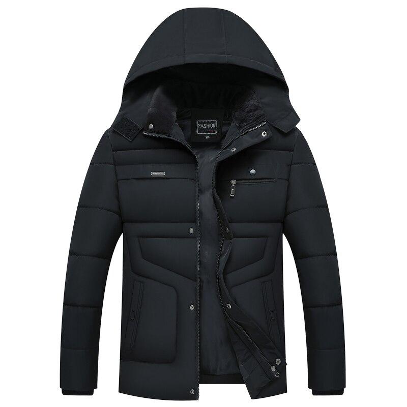 2020 New Style Winter Hot Fashion Hooded Winter Coat Men -20 Degree Thick Warm Mens Winter Jacket Parka Outwear Streetwear