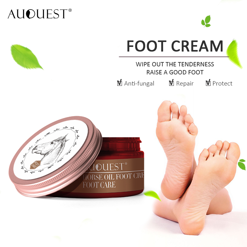 11.11 AuQuest Natural Foot Cream Itch Reliever Anti Blister Foot Massage Moisturizer Skin Peeling Dry Skin Calluses Foot Care