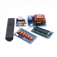 Assembeld Hifi Motor preamp Remote volume control board+display+AC230V transformer+input switch