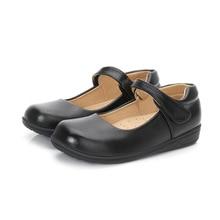 Shoes Black Baby-Girls Princess Kids Children's New Autumn Winter White Big 4-16-Years-Old
