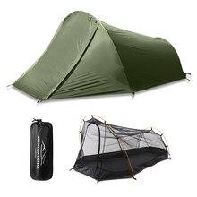 Novo 2 pessoa barraca de acampamento ao ar livre tendas à prova dwaterproof água verão praia tenda para acampamento ciclismo caminhadas muntaineering pesca