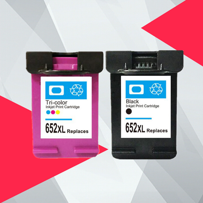 Compatible for hp652 <font><b>Ink</b></font> cartridge replacement for <font><b>HP</b></font> 652XL for <font><b>HP</b></font> 652 Deskjet <font><b>1115</b></font> 1118 2135 2136 2138 3635 3636 3835 4536 4538 image