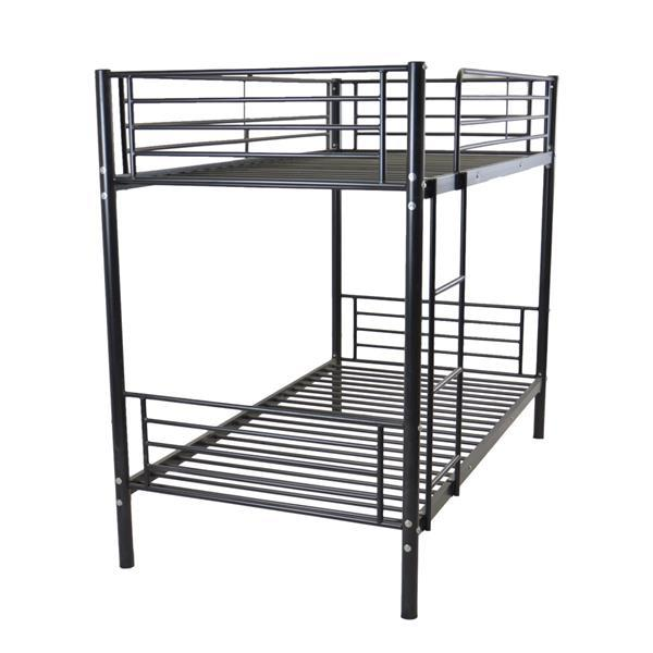 Bunk Bed Iron Frame With Ladder  6