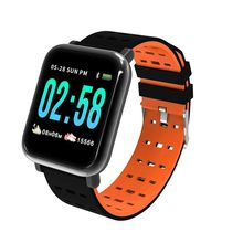 Oloey Smart Bracelet M20/A6 Real-time Heart Rate Blood Pressure Sleep Monitoring 1.3 Inch IP67 Water