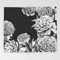 Mandala Decke Blumen in Schwarz und Weiß Fleece Decken und Werfen für Flugzeug Reise Weihnachten Dekorationen für Haus Decken Heim und Garten -