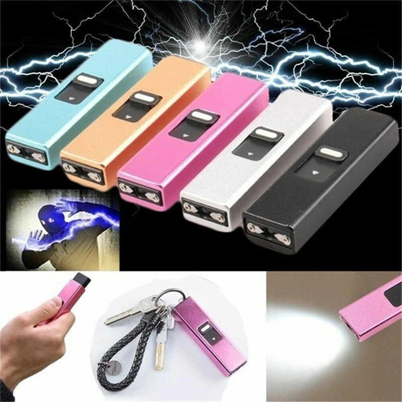 Portable Keychain Handy Flashlight Mini COB LED Handy Light Lamp Camping M0A0