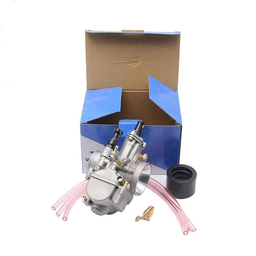 Alconsta-evrensel 21mm-34mm 2 T/4 T PWK motosiklet karbüratör Carburador Mikuni rgx4800 Koso ATV Suzuki Yamaha Honda güç Jet