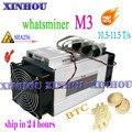 Verwendet Asic BTC BCC BCH Miner WhatsMiner M3 10 5 11 5 T/s SHA256 Bitcoin miner besser als M10 M3X antminer s9 T17 S11 S17 T3 E10|Netzwerkschalter|   -