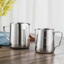 Pitcher-Tools Jug Stainless-Steel Measuring-Coffee Milk-Frothing Coffee-Latte Craft Graduated