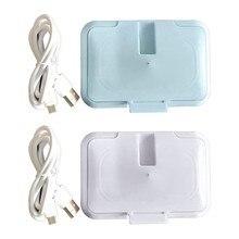 USB Baby-feuchttücher Heizung Thermische Warmen Nassen Handtuch Spender Serviette Heizung Box Abdeckung