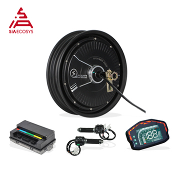 QSMOTOR 10x2.15inch 2000W 48V 35kph in wheel hub motor with EM50SP controller BLDC motor kits for Electric Scooter Tricycle 48v 60v dc 500w electric tricycle brushless dc gear motor 2800rpm e tricycle accessories bm1418zxf for tricycle motocycle car