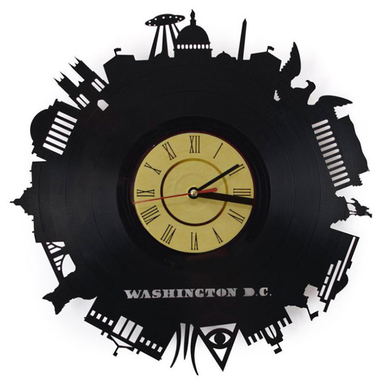 The Washington White House Clock Hotel Living Room Clock Tourism Memorial Photography Decoration Clock Best Gift For Friend
