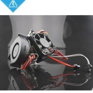 Image 2 - Yumuşak 3D Yazıcı Elmas Hotend Pirinç Çok Renkli Meme sıcak sonu 0.4mm/1.75mm için I3 Ekstruder fan kiti + Otomatik tesviye sensörü