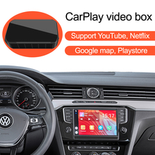 Auto Apple CarPlay YouTube Netflix Video Bluetooth GPS Navigation AI Box, für VW Polo Glof Passat Tiguan Touran Caddy Volkswage