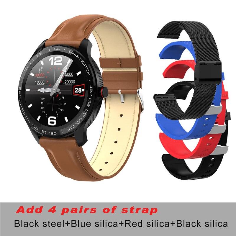 brown lea A 4p strap