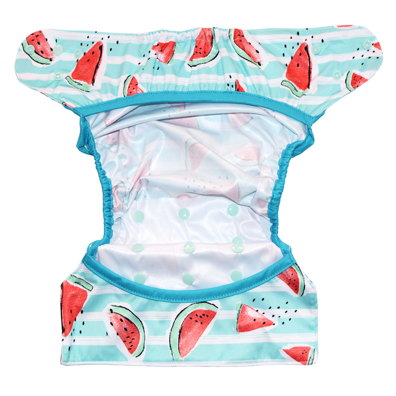 Happy Flute Big XL cloth diaper cover for Baby 2 Years and Older, stay-dry inner,adjustable size, fits waist 36-58 cm | Happy Baby Mama