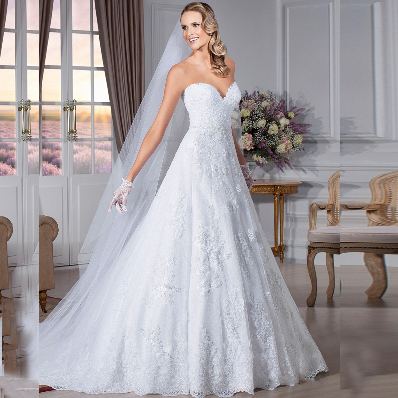 2018 Sexy Backless Lace Bridal Gown Cheap Sweetheart Sleeveless Appliqued Vestido De Noiva Renda Mother Of The Bride Dresses