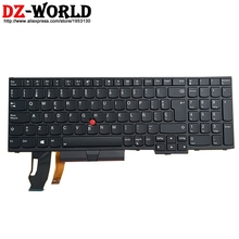 Backlit Keyboard Spanish Thinkpad Lenovo L580 P73 Laptop New for E580/E590/T590/.. Original