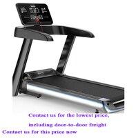 Home electric treadmill slimming Mini walking machine Bluetooth touch screen folding treadmill
