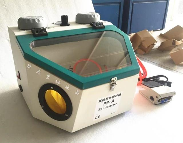 Pulidora de chorro de arena para joyería Diy, para joyería, minichorro de arena con 2 unidades, máquina de chorro de arena Manual