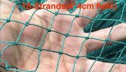 18-ストランドヘビー抗鳥ネッティング鹿フェンス庭のフェンスと作物保護フェンシングメッシュ抗鳥鹿猫犬チキンネット