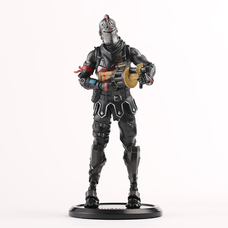 20cm New Hot Game Fortress Night Battle Royale Black Knight Action Figure Toys Game Character PVC Figure Model Toy 1