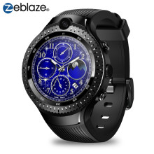 "Zeblaze THOR 4 double montre intelligente 4G LTE Android Quad Core 1GB + 16GB double caméra 1.4 ""AOMLED GPS/GLONASS WiFi fréquence cardiaque Smartwatch(China)"
