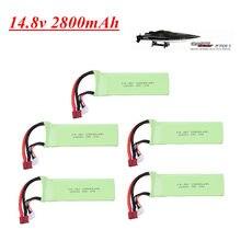 Bateria lipo para ft010 ft011 2800mah 14.8v bateria rc 4S 14.8v 30c 803496 rc barco rc helicóptero aviões carro quadcopter peças