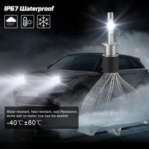 Image 3 - Kit de lampes à ampoule H1 phare LED 72W 36W 7000LM H7 H8/H9/H11 9005/HB3 9006/HB4 H4 pour voiture phare LED s