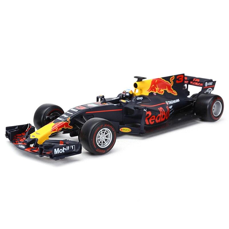 Bburago 1:18 RedBull 2017 RB13 F1 Racing #3 #33 Formula Car Static Simulation Diecast Alloy Model Car