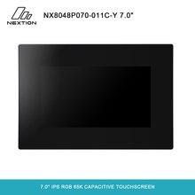 NEXTION 7.0 وحدة عرض Lcd NX8048P070 011C Y ذكي سلسلة HMI كامل لون شاشة لاب توب لمسي مع ضميمة