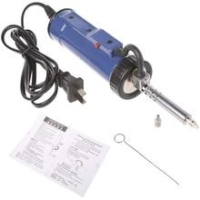 30W 220V 50Hz Electric Vacuum Solder Sucker Iron Tool,Desoldering Pump,Iron Gun Soldering Tools Automatic Suction tin