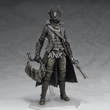 15CM Bloodborne Hunter Figure PVC Action Game Collection Peripherals Doll Model Toy Hunter Figma Adventure game great gifts dota 2 variant action figure figma sp 070 windranger variable doll pvc action figure collectible model toy 14cm kt3545